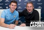 Man City complete signing of Laporte for £57m