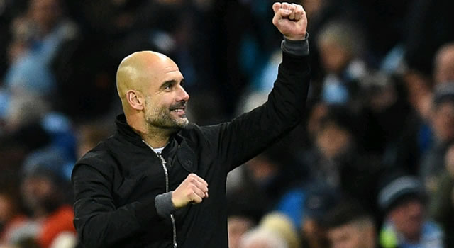 EPL: Guardiola sets manager of month record, Kane wins player award
