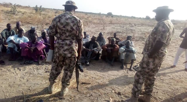 Army Troops Free Abducted Chibok Girl