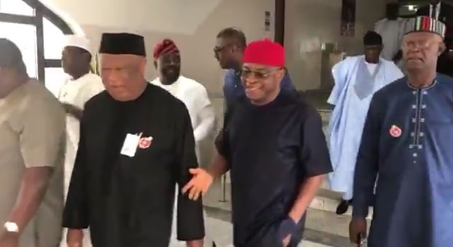 KILLINGS: After meeting Saraki, Dogara, Buhari meets Benue leaders behind closed doors