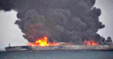 Fears of explosion, environmental hazard as tanker continues to leak oil days after collision with cargo ship