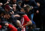 Costa scores, sent off in first Atletico start