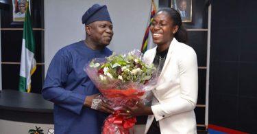 Ambode appoints Oshoala as sports ambassador