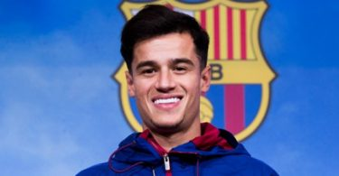Barca's new signing Coutinho out for three weeks
