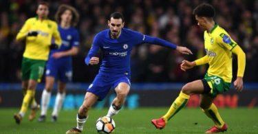 FA CUP: Nine-man Chelsea beat Norwich on penalties; Wigan, Swansea advance