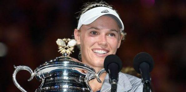 AUSSIE OPEN: Wozniacki beats Halep to win first Grand Slam title