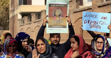 Protests continue in Pakistan over rape, murder of 7-yr-old girl as police hunt for victim's killer