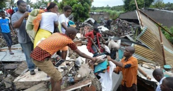 Mozambique Garbage Pile Collapses Amid Heavy Rainfall, Killing 17