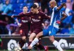 Barcelona snatch draw at Espanyol to set club record