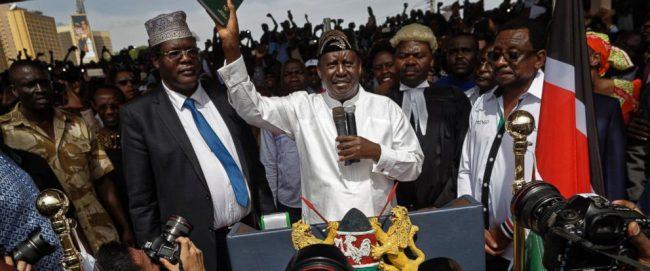 Kenya deports opposition member who played key role in Odinga's mock inauguration