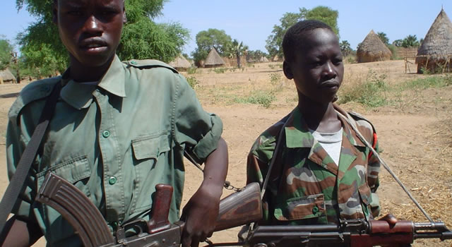 Child Soldiers Released by Armed Groups in South Sudan