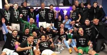 Iheanacho congratulates former teammates on Carabao Cup success