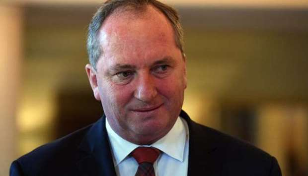 Barnaby Joyce faces