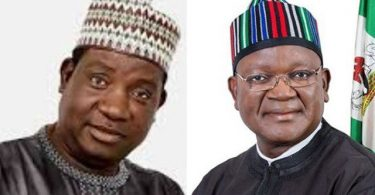 ANTI-OPEN GRAZING LAW: Who are you to warn me, mind your own business, Gov Ortom tells Lalong