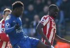 Ndidi, Iheanacho in action as Leicester draw Stoke