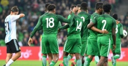 FIFA Rankings: Nigeria remains 52nd; Argentina, Croatia, Iceland among top 20