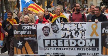 BARCELONA: Protests erupt as Spanish court jails 5 Catalan leaders