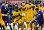 Messi scores stunning goal to earn vital win for Barca against Atletico