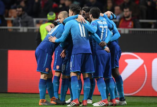 Arsenal stun Milan with 2-0 San Siro success