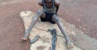 PLATEAU STATE: Police arrests AK 47 bearing herdsman
