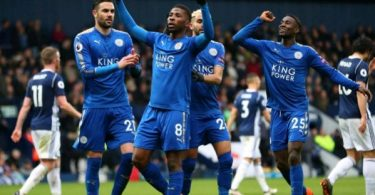 Iheanacho on target, Ndidi shines as Leicester thrash West Brom