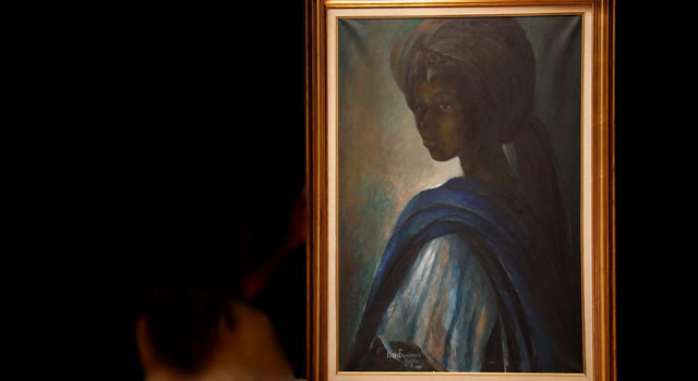 Art world stunned after 'African Mona Lisa' painting goes for $1.6 million