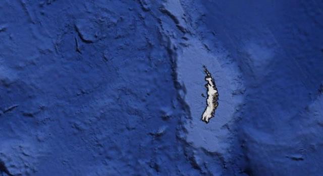 Alien hunters spot 'crash-landed UFO' in Google Earth image of Antarctica