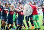 Champions! Bayern win sixth consecutive Bundesliga title