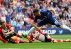 Moses stars as Chelsea set up FA Cup final with Man Utd
