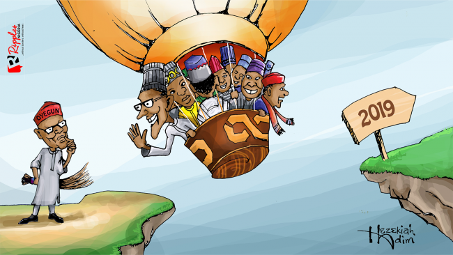 Caption this cartoon