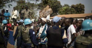 CAR: UN berates protesters who dumped corpses at its Hq, says it's propaganda