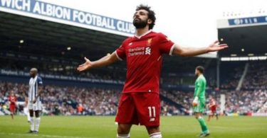 Salah equals goals record as Liverpool draw at West Brom