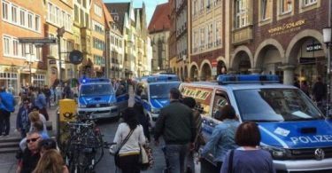 3 dead, 20 injured as van drives into crowd in Germany