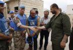 SYRIA: Unknown gunmen open fire at UN inspection team