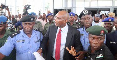 Snatched Senate mace: Police arrests Sen Omo-Agege