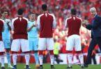 Arsenal celebrates Arsene Wenger