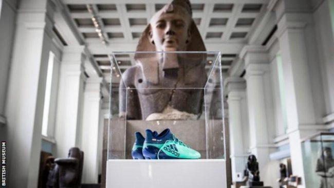 Salah's boots to become British museum exhibit