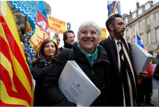 Belgian court blocks extradition of former Catalan ministers