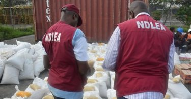 Amid ban on Codein NDLEA intercepts 4 tonnes of imported Tramadol