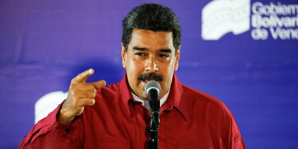 Venezuela's Maduro expels US diplomats over sanctions