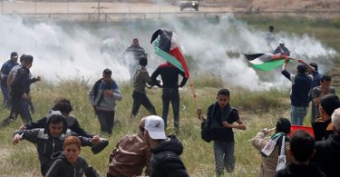 38 Palestinians shot dead by Israeli forces as US opens embassy