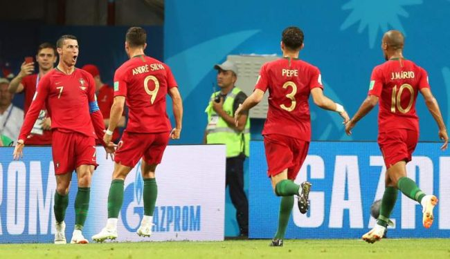 Cristiano Ronaldo scores hattrick to earn Portugal a thrilling draw against Spain