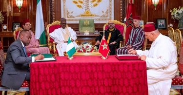 Nigeria, Morocco release communique after leaders' meeting