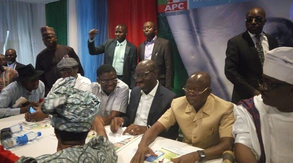 APC CHAIRMANSHIP: Oshiomhole's bid receives boost as APC governors pledge support