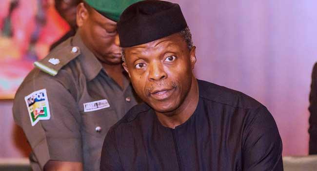 Narrow escape for Osinbajo as VP's chopper crash-lands in Kabba