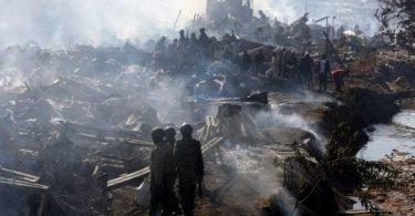 KENYA: 15 feared dead, 70 injured in Nairobi market fire