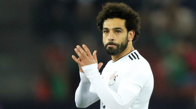 Mo Salah celebrates birthday at Egypt team hotel