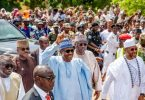Nobody should ever question Buhari's health again after he trekked for 800 metres— Presidency