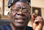 FALANA TO APC SENATORS: Your 'planned removal of Saraki cannot stand'