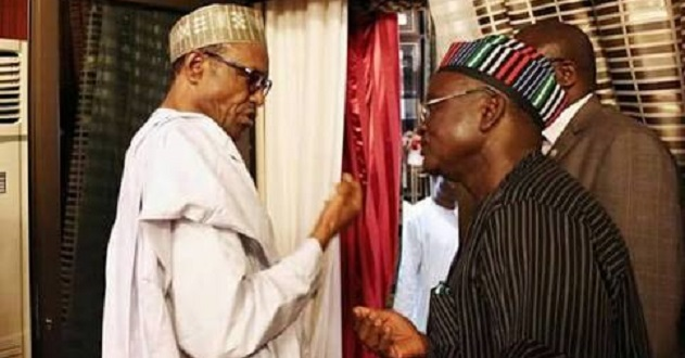 Gov Ortom wants Buhari probed over use of security votes
